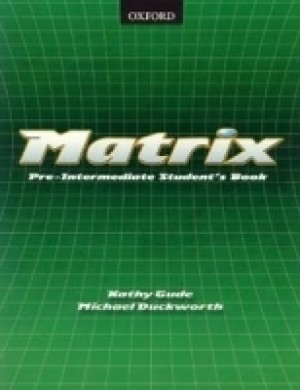MATRIX PRE-INTEMEDIATE STUDENTS BOOK