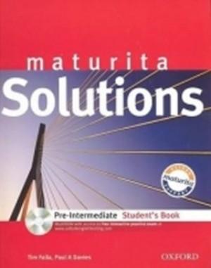 Maturita Solutions pre-intermediate Student´s Book + CD-ROM Czech Edition - P.A. Davies, T. Falla