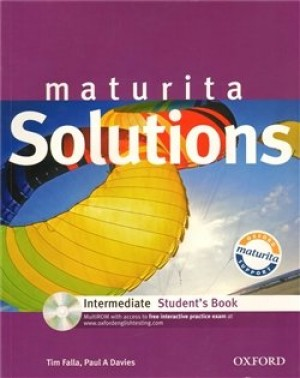 Maturita Solutions Intermediate Student´s Book + CD-ROM Czech Edition - P.A. Davies, T. Falla