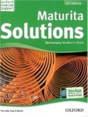 Maturita Solution Elementary Student´s Book 2nd Edition - P.A. Davies, T. Falla