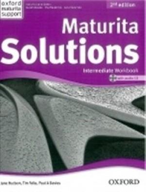 Maturita Solutions Intermediate Workbook 2nd Edition with Audio CD - P.A. Davies, T. Falla