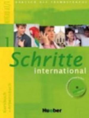 Schritte international 1: Kursbuch + Arbeitsbuch mit Audio-CD