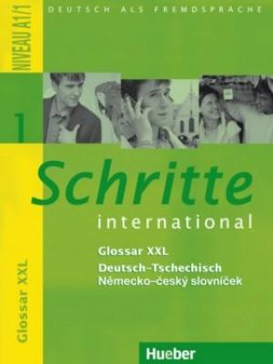 Schritte international 1: Glossar XXL Deutsch-Tschechisch – Německo-český slovníček