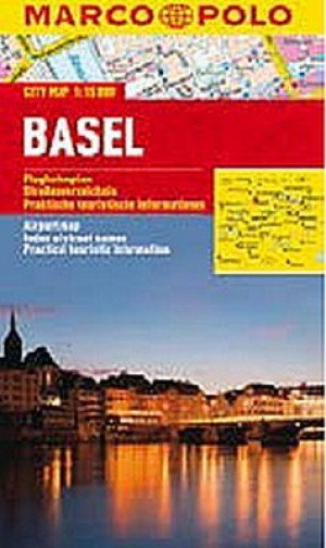 Basel - City Map 1:15000