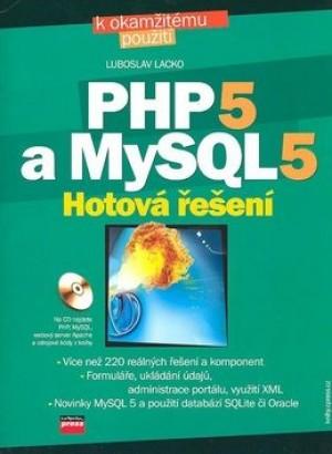 PHP 5 a MySQL 5 + CD