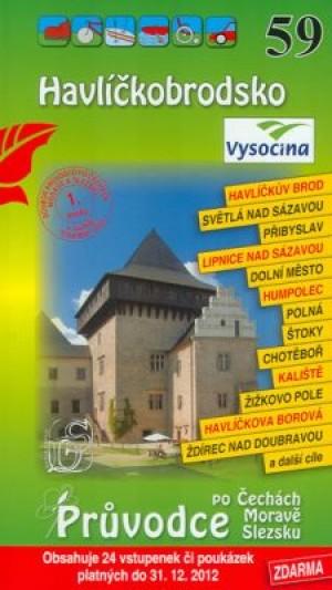 Havlíčkobrodsko 59. - Průvodce po Č,M,S + volné vstupenky a poukázky